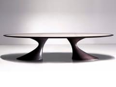 Tavolo ovale in legno masselloBEND | Tavolo ovale - ANNIBALE COLOMBO
