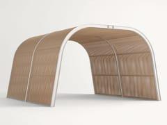- Wooden gazebo CABANNE MODULO TUNNEL - Paola Lenti