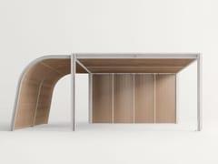 - Wooden gazebo CABANNE MODULO VERANDA - Paola Lenti