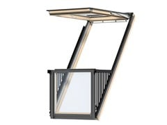 Balcone/finestra con apertura a vasistasCABRIO™ - VELUX