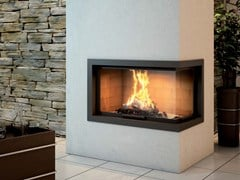 - Steel Fireplace Mantel CADRE DESI - Axis