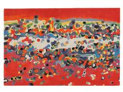 - Patterned rectangular wool rug CALIFORNIA - Toulemonde Bochart