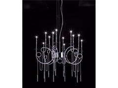 - LED steel pendant lamp CALLIGRAFICO NITY 12C | LED pendant lamp - SP Light and Design