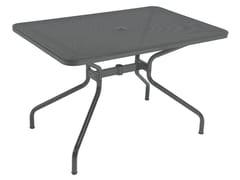 - Tavolo da giardino rettangolare in acciaio CAMBI | Tavolo rettangolare - EMU Group S.p.A.