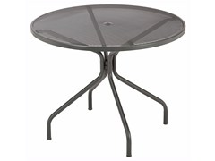 - Round steel garden table CAMBI | Round table - EMU Group S.p.A.