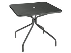 - Square steel garden table CAMBI | Square table - EMU Group S.p.A.