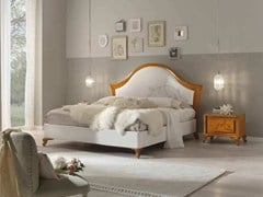 - Double bed with upholstered headboard CAMELIA | Double bed - Arvestyle