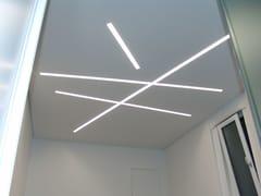 Profilo per illuminazione lineare in MDFCANALETTO DOPPIO OPEN LED - CANALETTO SMART
