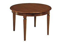 - Extending solid wood table CANALETTO | Round table - Arvestyle