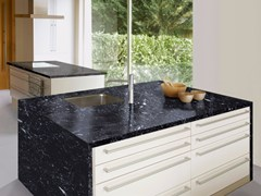 - Marble kitchen worktop CANFRANC | Kitchen worktop - Levantina