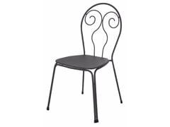 - Stackable steel garden chair CAPRERA | Chair - EMU Group