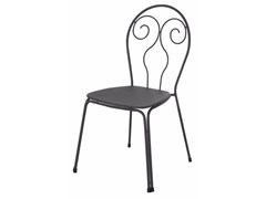 - Stackable steel garden chair CAPRERA | Chair - EMU Group S.p.A.