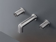 - Wall mounted set of 2 individual taps CAR 28 - Ceadesign S.r.l. s.u.