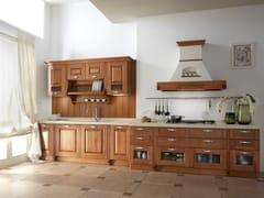 Cucina componibile lineare in frassinoCARMEN | Cucina lineare - GF FLORITELLI