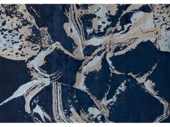 - Handmade rug CARRARE ULTRAMARINE - EDITION BOUGAINVILLE