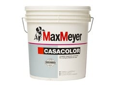 Pittura murale lavabile traspirante CASACOLOR - MAXMEYER BY CROMOLOGY ITALIA