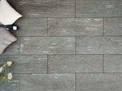 - Outdoor floor tiles with stone effect CALANCA DARK - GRANULATI ZANDOBBIO