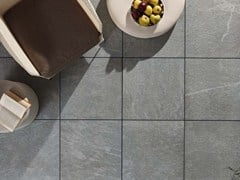- Outdoor floor tiles with stone effect COLOSSEO TOSCANO - GRANULATI ZANDOBBIO