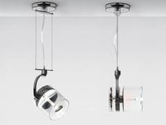 - LED suspended die cast aluminium spotlight CATA CATADIOPTRIC | Suspended spotlight - Artemide Italia