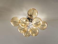 - Lampada da soffitto in cristallo ATOM Ø 40 | Lampada da soffitto - Metal Lux di Baccega R. & C.