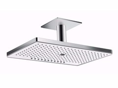 - Ceiling mounted rain shower with arm RAINMAKER SELECT | Ceiling mounted overhead shower - HANSGROHE