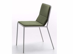 - Upholstered fabric chair TRES | Chair - Debi