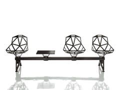 - Aluminium beam seating CHAIR_ONE PUBLIC SEATING SYSTEM 2 - Magis