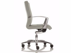 - Low back executive chair with 5-spoke base YOUSTER | Executive chair with armrests - Luxy