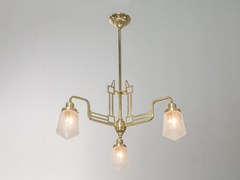 - Direct light handmade brass chandelier HOFFMANN II | Chandelier - Patinas Lighting