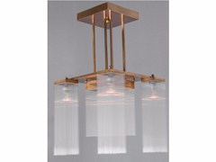 - Direct light handmade brass chandelier HOFFMANN I | Chandelier - Patinas Lighting