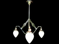 - Direct light handmade nickel chandelier HOFFMANN II | Chandelier - Patinas Lighting