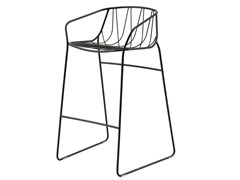 - Powder coated steel counter stool CHEE | Counter stool - SP01