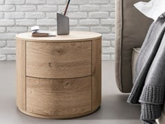 - Bedside table with drawers CHRISTAL | Bedside table - Dall'Agnese
