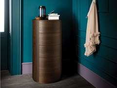 - Free standing wooden chest of drawers CHRISTAL   Wooden chest of drawers - Dall'Agnese