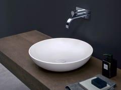 Lavabo da appoggio rotondo in ceramicaCIOTOLA - NIC DESIGN