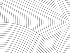 - Carta da parati geometrica in carta non tessuta CIRCLES #01 - EXTRATAPETE