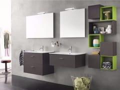 - Sistema bagno componibile CITY - Composizione 2 - INDA®