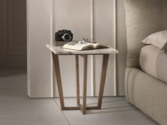 - Low solid wood coffee table CITY | Square coffee table - Pacini & Cappellini