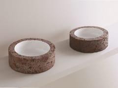Lavabo da appoggio rotondoCIVITA | Lavabo rotondo - AZZURRA SANITARI IN CERAMICA