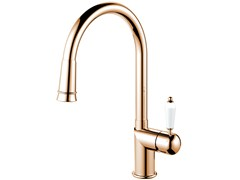 - Stainless steel kitchen mixer tap with pull out spray CLASSIC LINE CL-270 - Nivito