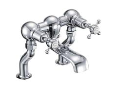- 2 hole chrome-plated bathtub tap with aerator CLAREMONT | Bathtub tap - Polo
