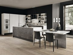 Cucina componibile con isolaCLASS | Cucina in Fenix-NTM® - FEBAL CASA BY COLOMBINI GROUP