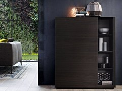 - Wood veneer highboard CLASS | Highboard - Poliform