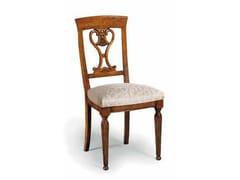 - Sedia in legno massello con schienale aperto CAVOUR | Sedia - Arvestyle