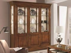 - Solid wood display cabinet CAPRI | Solid wood display cabinet - Arvestyle