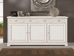 - Solid wood sideboard with doors CAPRI | Lacquered sideboard - Arvestyle