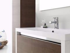 - Laminate bathroom cabinet / vanity unit CLEVER - Composizione 3 - INDA®