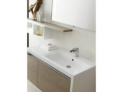 - Sistema bagno componibile CLEVER - Composizione 4 - INDA®