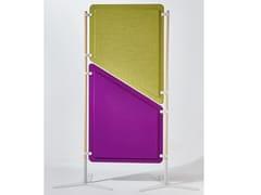 Pannello divisorio free standing modulare in tessutoPARTIZIONE AUTOPORTANTE | Pannello divisorio - ACOUSTIKUS