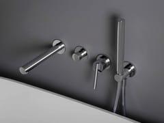 Miscelatore per vasca in ottone cromato con doccettaCLOSER | Miscelatore per vasca - ZUCCHETTI RUBINETTERIA S.P.A.